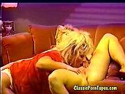 Bonnie in classic lesbian porno tape