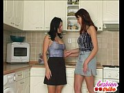 two brunettes lick pussy and tits into some lesbian action view on xvideos.com tube online.