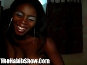 dominican dark skinned cutie with a booty banged