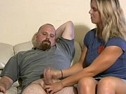 Lady is kind and generous enough to give man a handjob, 10 man 1 woman Video Screenshot Preview