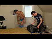 dustin and julian are stuck sharing a room – Porn Video