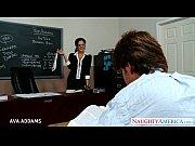 Teacher in glasses Ava ...