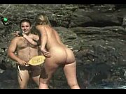 Nudist beach girl - hairy nudi