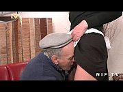 French maid fucked...
