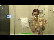 Picture Hot Tattoo MILF Gets Filmed In Shower