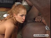 Sexy blonde fucked in the ass
