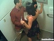 [ノゾキ]公衆便所でバキュームカー並みのバキュームフェラ!をはじめた男女がいました! 便所隠し撮り動画。 Secret Blowjob In The Toilet Caught Live On CCTV - 5 min
