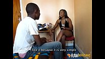 Young real African amateurs suck and fuck