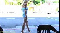 rylie richman mini skirt flashing babe