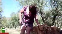 she eats his dick between olive trees. san113
