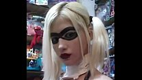 Harley Quinn huge tits - Watch this live at sex...