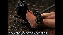 Beretta's Bod Locked in Bondage