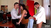 alysa gap comes in for audition and gets stuffed with hard cock