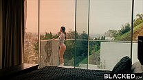 fling college a with up catches lovia eva Blacked
