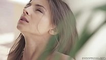 Sexy Maria Rya rubbing herself in the garden