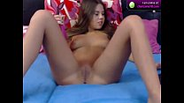YoungDorina18 fucks herself on cam