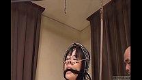 Subtitled bizarre CMNF Japanese nose hook BDSM spanking9-20170505 porn videos