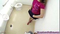 bathroom in fucks Teen