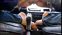 Czech bitch fuck and squirt on the car gear porn videos