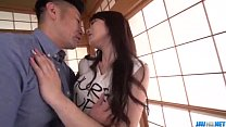 Appealing wife Ryouka Shinoda bgets laid with her hubby porn videos