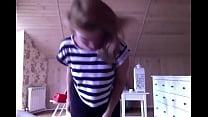 Teen striptease