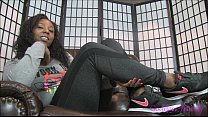 Ebony Foot Sweat Fetish JOI porn videos