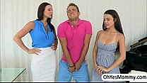 MILF Kendra punishes erotically her student Dil...