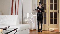 Latex Femdom enjoys Anal Sex show with Russian ...