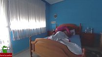 gui092 azul habitacion la en intensa coño de Comida