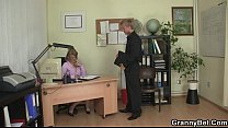 Mature office boss forces him fuck her hard porn videos