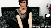 Young gay twinks emos Jesse Andrews is only leg...