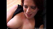 big tits milf works her twat