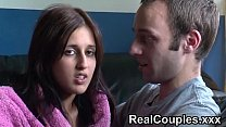Real couple Zarina and Jay chat before having sex - Download Indian 3gp XXX porn videos