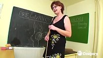 Mature Teacher With Big Nipples A Shaggy Tits Bangs Her Student