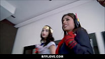 Step Sister And Best Friends Fucked By Brother Before Comic Con