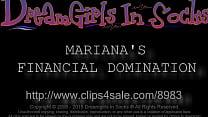 Mariana's Financial Domination - www.clips4sale...