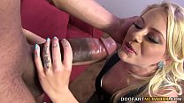 Cameron's pussy gets fucked by a huge black dick