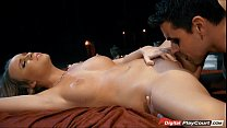 on... rides and blowjob a gives adams alexis Busty
