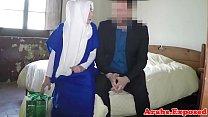 Arabian beauty fucked and jizzed in mouth porn videos