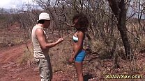 german african safari sextourist