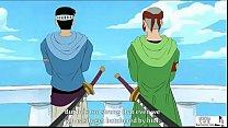 ONE PIECE Nami and Johnny Yosaku One Piece Animated Hentai porn videos