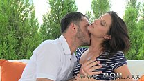 XXX MOM Brunette suck and fucks a fat cock Videos Sex 3Gp Mp4