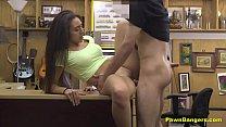 Hot Latina Babe Gets Her Beaver Smashed