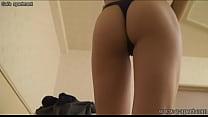 japanese schoolgirl wear a swimsuit to take off the school uniform