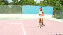 Isabella Chrystin Tennis Court Pounding 2015