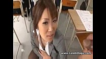 Japanese teacher fucked by her students porn videos