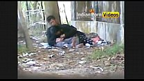 Outdoor blowjob mms of desi girls with lover - ...