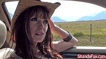 Kinky Canadian Milf Shanda Fay Blows Hitch Hike...