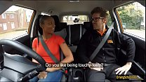 Ebony babe Lola Marie pounded in FDS car thumb