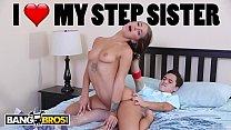 BANGBROS - Step Sister Evelin Stone Catches Jua...